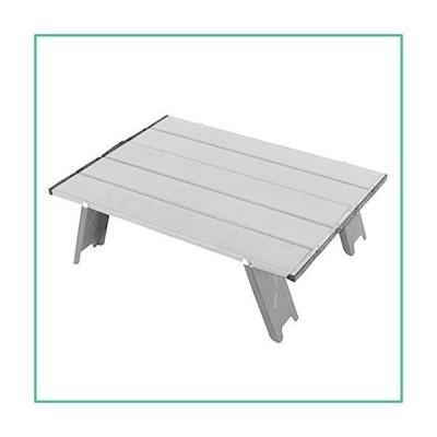 送料無料!GEZICHTA Folding Camping Table Portable Aluminum Beach Table,Mini Collapsible Foldable Picnic Table Light Compact for Camping