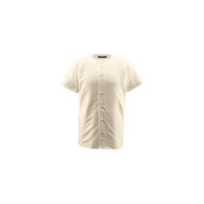 ds-1047592 デサント(DESCENTE) ジュニアフルオープンシャツ (野球) JDB1010 Sアイボ 130 (ds1047592)
