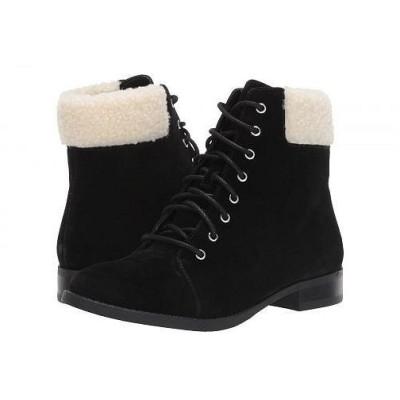 SOLE / SOCIETY レディース 女性用 シューズ 靴 ブーツ レースアップブーツ Nadima - Black/Natural