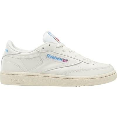 リーボック スニーカー シューズ レディース Reebok Women's Club C 85 Shoes White/Blue