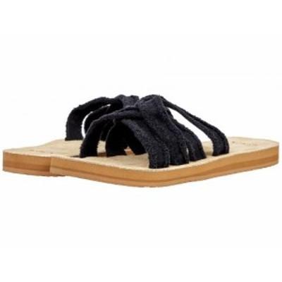 Sanuk サヌーク レディース 女性用 シューズ 靴 サンダル Fraidy Slide Black【送料無料】