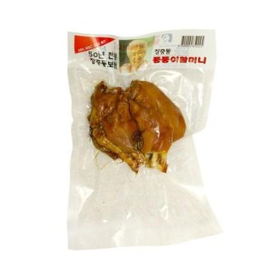 [冷蔵]『匠忠洞』味付け豚足・半分切り(小・約300g)  豚肉 加工食品 韓国料理