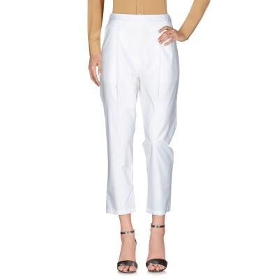 セミクチュール SEMICOUTURE パンツ ホワイト 38 コットン 100% パンツ