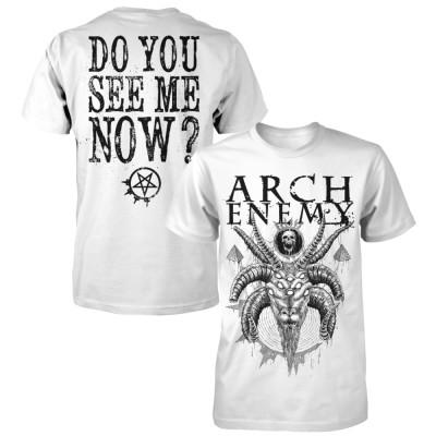 ARCH ENEMY アーチエネミー - Do you see me ? / バックプリントあり / Tシャツ / メンズ 【公式 / オフィシャル】(XL)