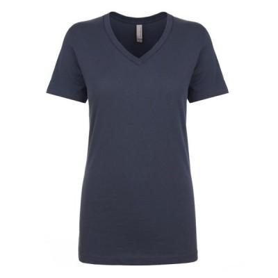 ユニセックス 衣類 トップス The Next Level Ladies Ideal V - INDIGO - XS Tシャツ