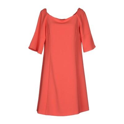 I BLUES ミニワンピース&ドレス コーラル 42 トリアセテート 71% / ポリエステル 29% ミニワンピース&ドレス