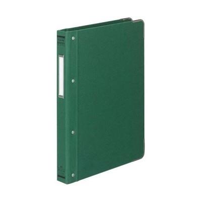 コクヨ バインダーMP B5縦 100枚収容 総布貼 緑