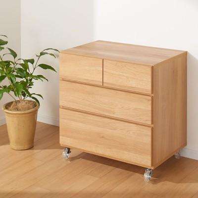 家具 収納 衣類収納 押入収納 クローゼット収納 クローゼットの奥行に合わせてサイズが選べる!モダンクローゼットチェスト 3段・幅73cm奥行50cm高さ74cm 573822