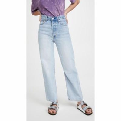 リーバイス Levis レディース ジーンズ・デニム ボトムス・パンツ Ribcage Straight Ankle Jeans Middle Road