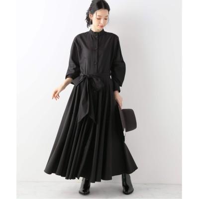 レディース ヴェルメイユ パー イエナ 【MARTIN GRANT/マーティングラント】シャツドレス ブラック XS