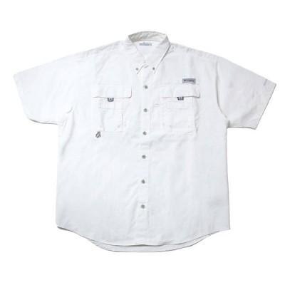 Columbia(コロンビア)FM7047 バハマ II ショートスリーブ シャツ 半袖シャツ フィッシングシャツ UVカット SPF50 紫外線 ブロック 通気性 速乾