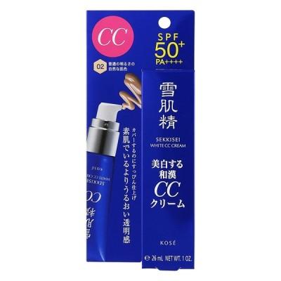 コーセー 雪肌精 ホワイト CCクリーム 02 普通の明るさの自然な肌色 30g