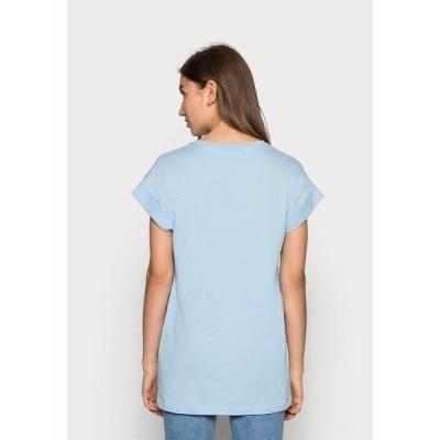モス コペンハーゲン Tシャツ レディース トップス ALVA  - Basic T-shirt - powder blue