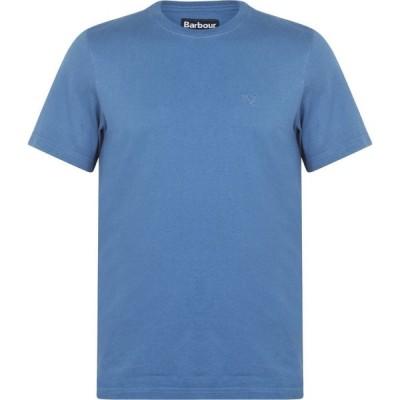バブアー Barbour メンズ Tシャツ トップス Sport T Shirt Denim Marl