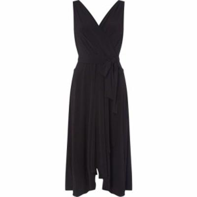 ディーケーエヌワイ DKNY Occasion レディース ワンピース ラップドレス ワンピース・ドレス Wrap Hankerchief Dress Black