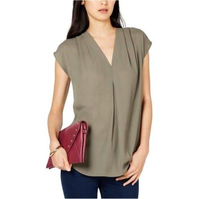 レディース 衣類 トップス I-N-C Womens Inverted Pleat Pullover Blouse ブラウス&シャツ