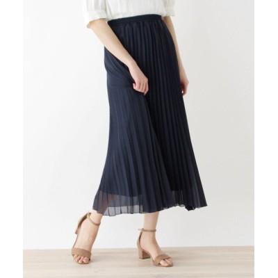SHOO・LA・RUE / 【M-LL】アコーディオンプリーツロングスカート WOMEN スカート > スカート