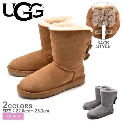 UGG アグ W BAILEY BOW SHORT RUFFLE ムートンブーツ 1095794