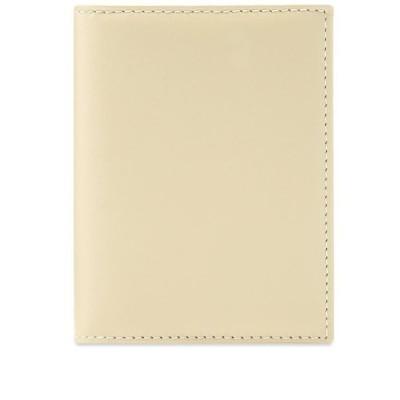 コムデギャルソン Comme des Garcons Wallet メンズ 財布 comme des garcons sa0641 classic wallet White