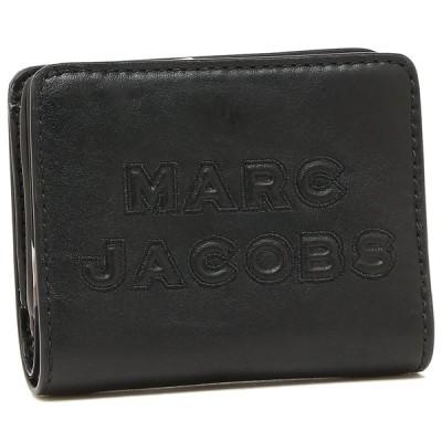 「P10%還元 5/15〜16」マークジェイコブス 折財布 ミニ財布 アウトレット レディース MARC JACOBS M0015752 001 ブラック