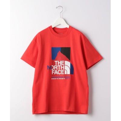【グリーンレーベルリラクシング】 [ ザ ノースフェイス ] THE NORTH FACE カラコラム レンジ Tシャツ メンズ レッド L green label relaxing