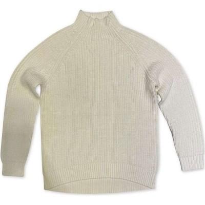 スタイル&コー Style & Co レディース ニット・セーター 大きいサイズ トップス Plus Size Funnel-Neck Sweater Vanilla Bean