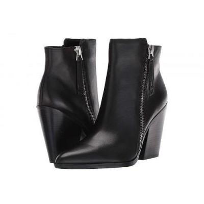 Naturalizer ナチュラライザー レディース 女性用 シューズ 靴 ブーツ アンクルブーツ ショート Rooney - Black Leather