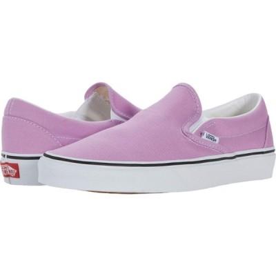 ヴァンズ Vans レディース スリッポン・フラット シューズ・靴 Classic Slip-On(TM) Orchid/True White