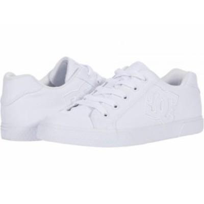 DC ディーシー レディース 女性用 シューズ 靴 スニーカー 運動靴 Chelsea White/White【送料無料】