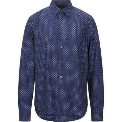 ポールスミス PAUL SMITH メンズ シャツ トップス patterned shirt Dark blue