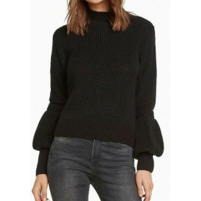 Willow & Clay ウィロー&クレイ ファッション トップス Willow & Clay NEW Black Womens Size Large L Open Back Knitted Sweater