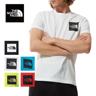 新作 SS21 THE NORTH FACE ザノースフェイス NF0A55UX  M FINE S/S TEE Tシャツ メンズ 半袖 人気 ボックスロゴ US アウトドア