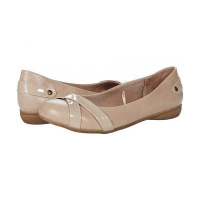 LifeStride ライフストライド レディース 女性用 シューズ 靴 フラット Adalene - Taupe