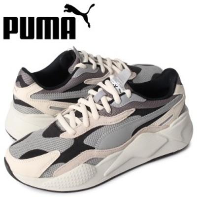 プーマ PUMA パズル スニーカー メンズ RS-X3 PUZZLE グレー 371570 01