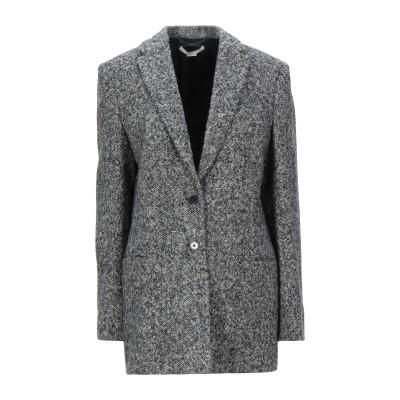 ステラ マッカートニー STELLA McCARTNEY コート ブラック 38 ウール 100% コート