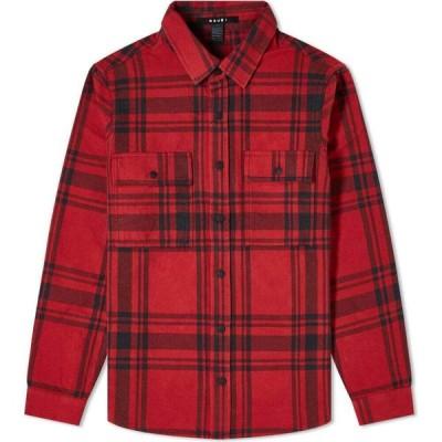 スビ Ksubi メンズ シャツ フランネルシャツ トップス Paradox Check Flannel Shirt Red