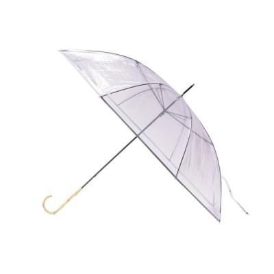 AG by aquagirl(エージー バイ アクアガール)バンブーハンドルビニール傘(長傘)