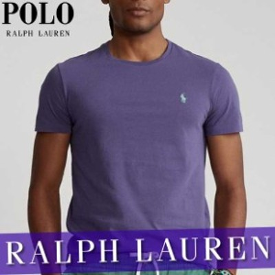 ポロ ラルフローレン 無地Tシャツ 半袖 メンズ クラシック ジャージー 刺繍ロゴ ワンポイント 丸首 XS~XXL 新作 RL