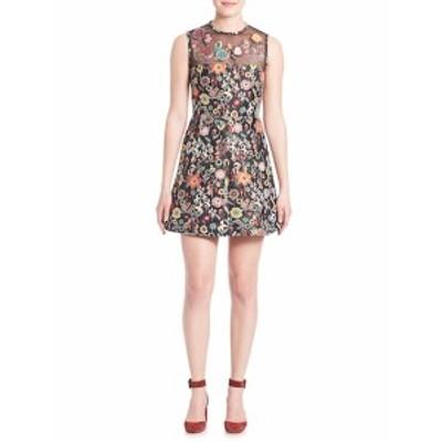 レッドヴァレンティーノ レディース ワンピース Floral Jacquard Dress