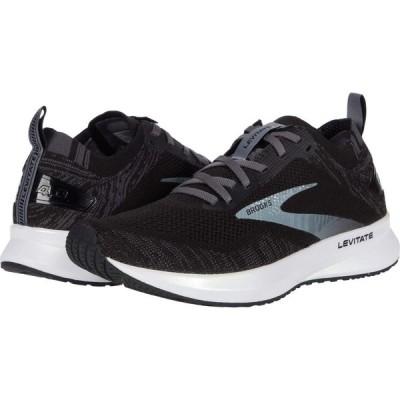 ブルックス Brooks レディース ランニング・ウォーキング シューズ・靴 Levitate 4 Black/Blackened Pearl/White