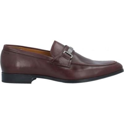 バリー BALLY メンズ ローファー シューズ・靴 Loafers Maroon