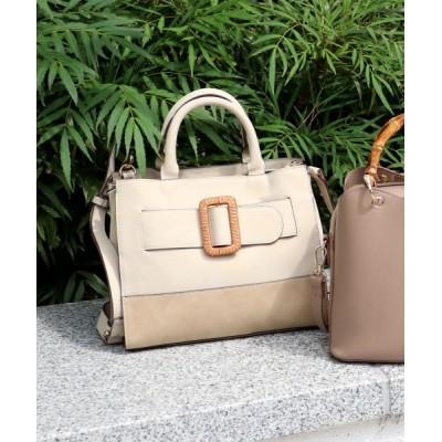 TRYSIL / 樹脂バックル2wayミニトートバッグ WOMEN バッグ > トートバッグ
