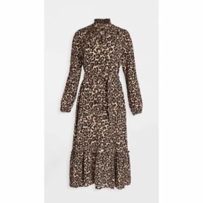 バウム ウンド ヘルガーデン BAUM UND PFERDGARTEN レディース ワンピース ワンピース・ドレス Antoinette Dress Natural Leopard