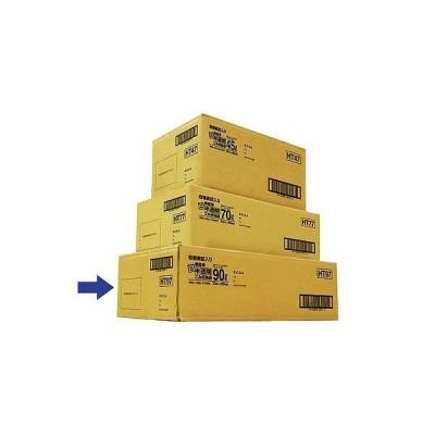日本サニパック日本サニパック 容量表記入り白半透明ごみ収集袋 炭カル入 90L HT97 1箱(10枚×20パック入)