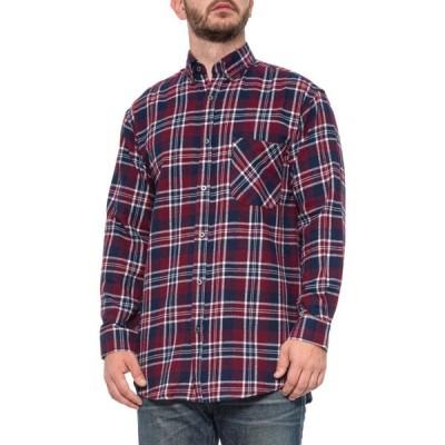 キーアパレル Key Apparel メンズ シャツ フランネルシャツ トップス Marble Road Flannel Shirt - Long Sleeve Wine
