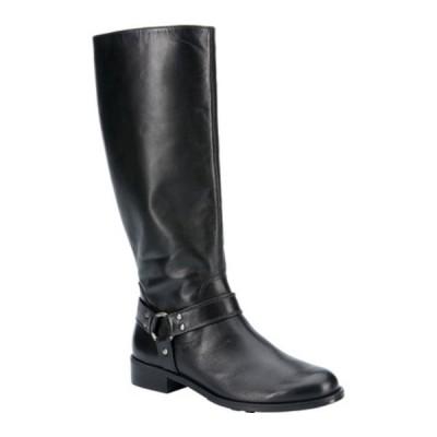 ウォーキング クレイドル ブーツ&レインブーツ シューズ レディース Kristen Harness Boot (Women's) Black Leather