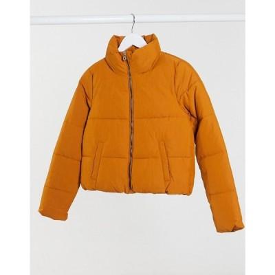 オンリー Only レディース ダウン・中綿ジャケット アウター Padded Jacket In Rust ラスティック