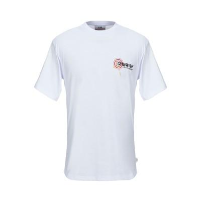 GCDS T シャツ ホワイト M コットン 100% T シャツ