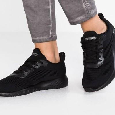 スケッチャーズ レディース 靴 シューズ BOBS SQUAD - Trainers - black