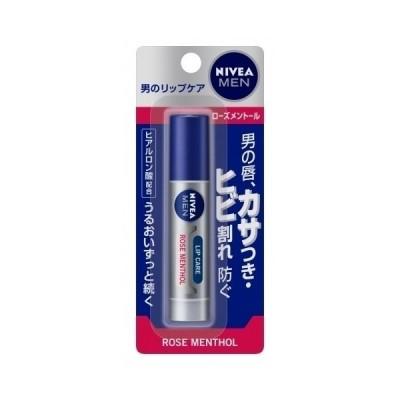 【医薬部外品】ニベアフォーメン リップ ローズメントール 3.5g